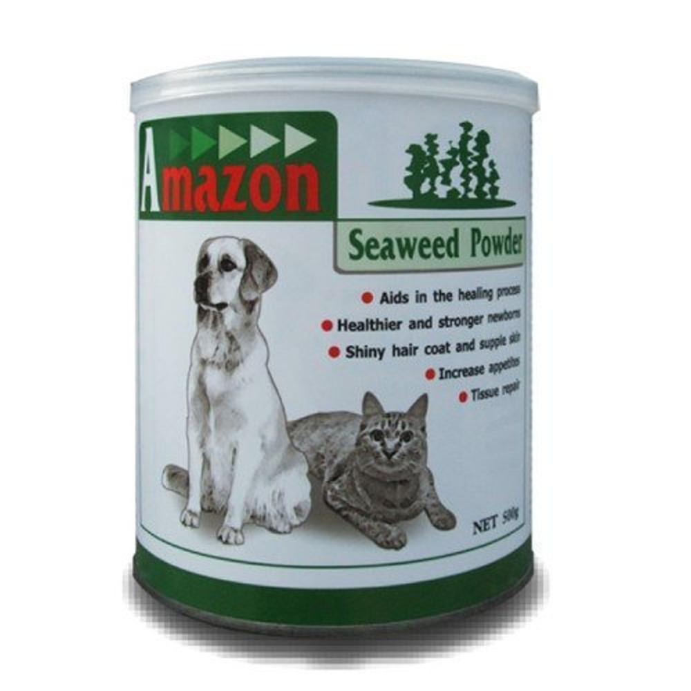 愛美康Amazon 天然犬/貓海藻營養粉 500g