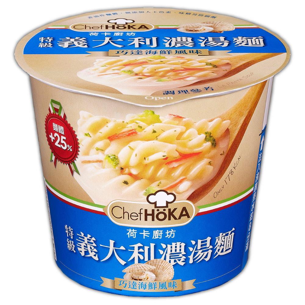 荷卡廚房 義大利濃湯麵-海鮮(47gx12杯)