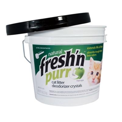 Fresh purr 青蘋果天然長效型除臭水晶砂 5磅