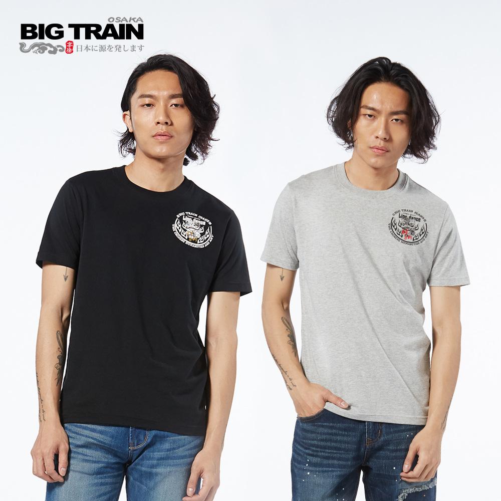 BIG TRAIN 神威醒獅2件包-男-黑灰