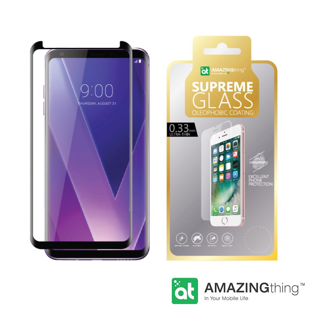 AMAZINGthing LG V30/V30+ 滿版強化玻璃保護貼
