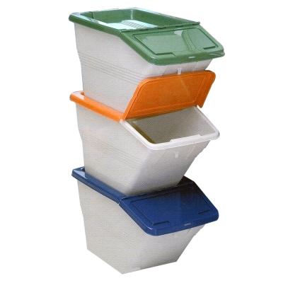 ★限時下殺★環保高手 ~資源分類回收桶(三入)
