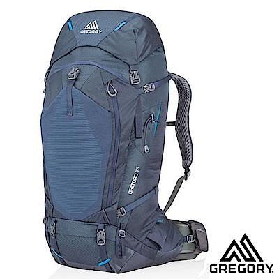 【美國 GREGORY】新款 Baltoro 75 專業健行登山背包M_薄暮藍