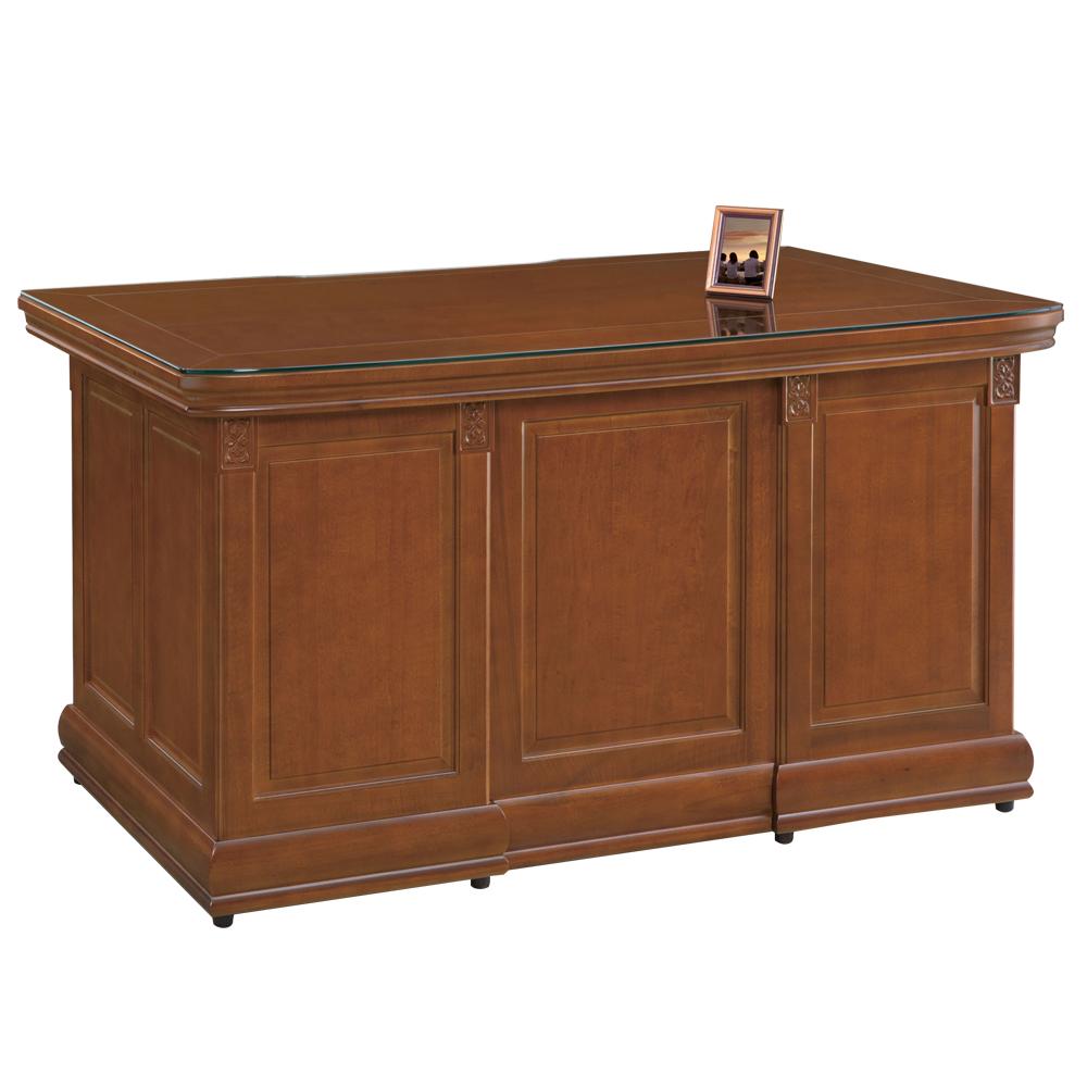 時尚屋 賽德克正樟實木5尺書桌 寬146cm