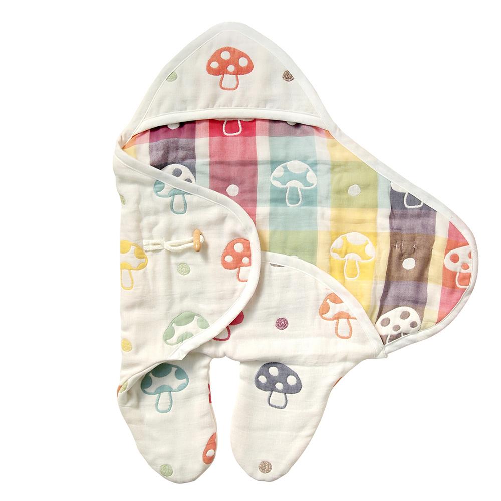 【Hoppetta】六層紗蘑菇包巾