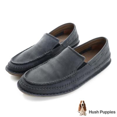 Hush Puppies MALACHY 直套式便鞋-深藍色