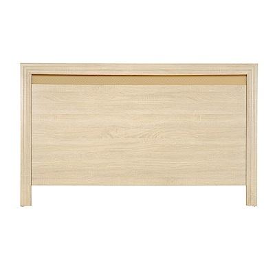 AS-雷契爾3.5尺原切橡木床頭片-109x2x92cm