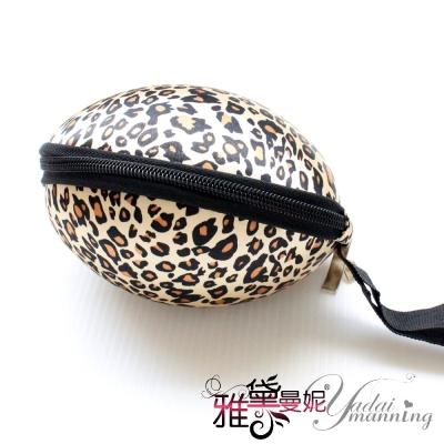 雅黛曼妮 隱形胸罩 日糸隱形胸罩手提式收納盒(咖豹紋色)