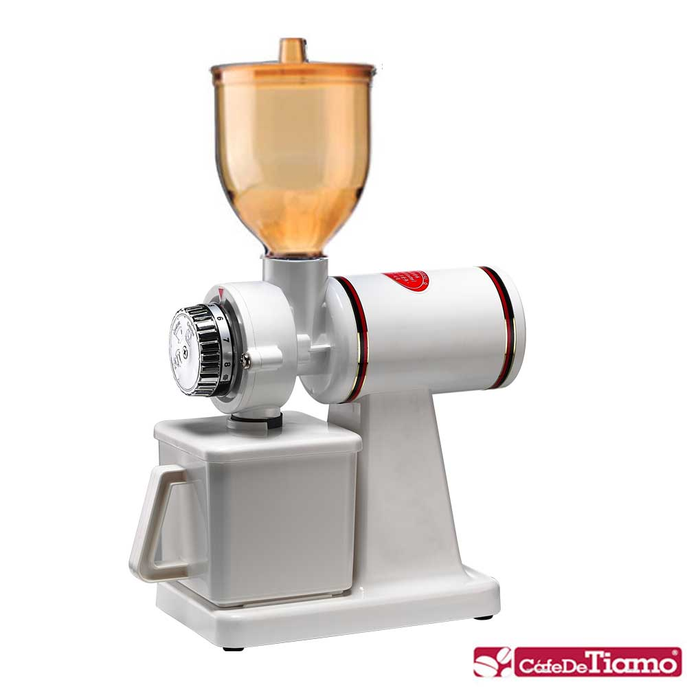 Tiamo 660N義式專用半磅磨豆機-白色(HG0138)