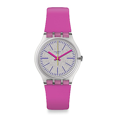 Swatch The Swatch Vibe FLUO PINKY 螢光粉紅手錶