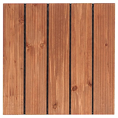TRENY 戶外木地板 直紋(紅色) 10 片/箱