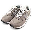 New Balance-男復古慢跑鞋ML574EGG-灰