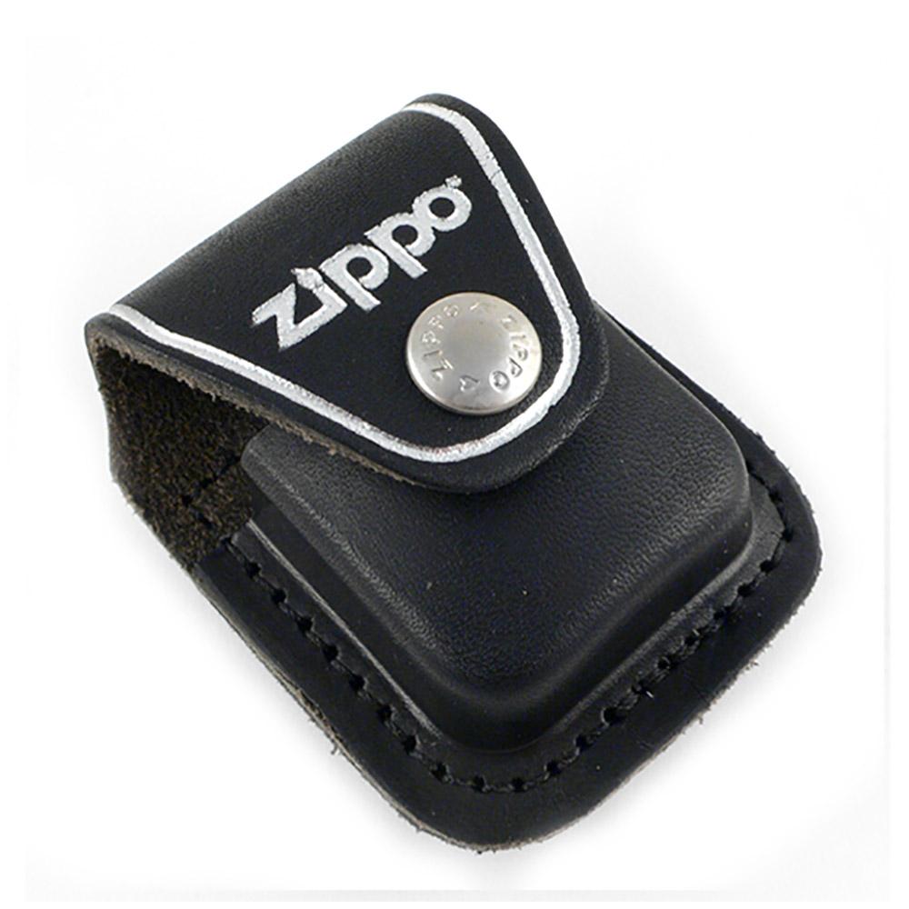 【ZIPPO】背夾式~打火機皮套(黑色款)