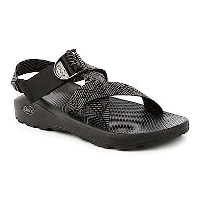 美國Chaco男越野舒壓運動涼鞋-寬織帶標準款CH-ZLM03HE02 -交織黑