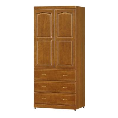 Boden-紐松3尺高衣櫃-兩色可選