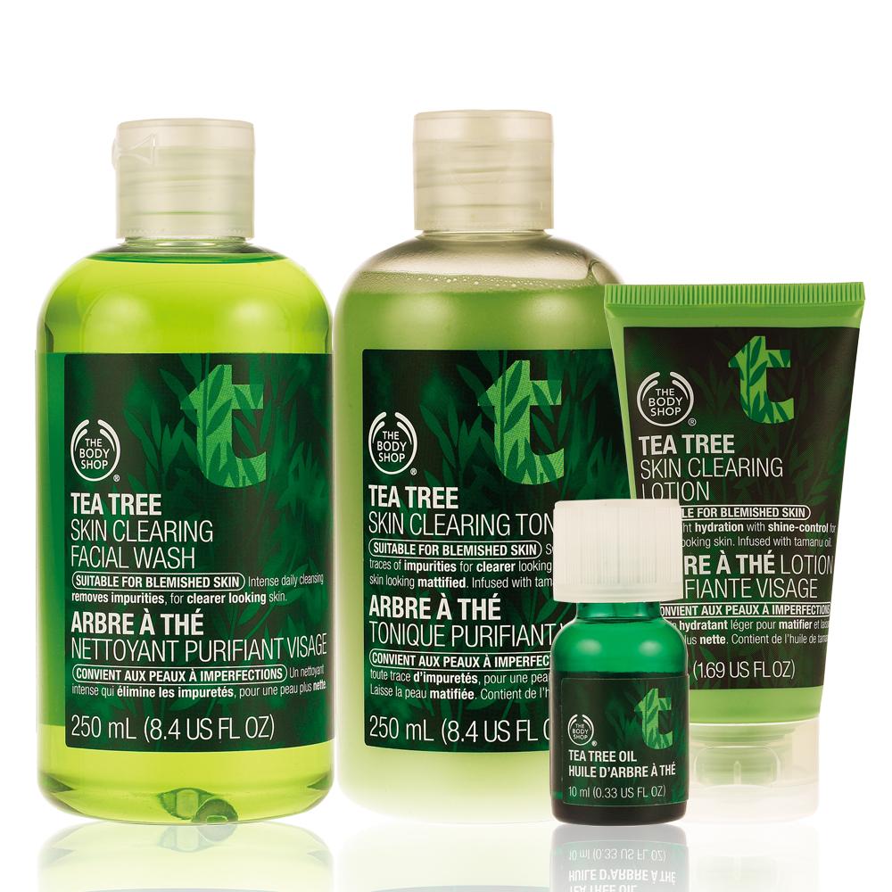 The Body Shop t荳淨化基礎組
