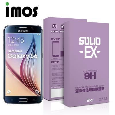 iMOS Samsung Galaxy S6 2.5D滿版強化玻璃螢幕保護貼黑邊