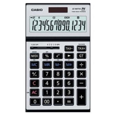 Casio卡西歐  JS-140TVS-SR 14位稅率計算機