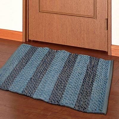 棉花田【馬克】混紡編織踏墊(50x80cm)