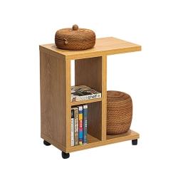 YKSHOUSE-北歐邊桌櫃木質置物架-多色