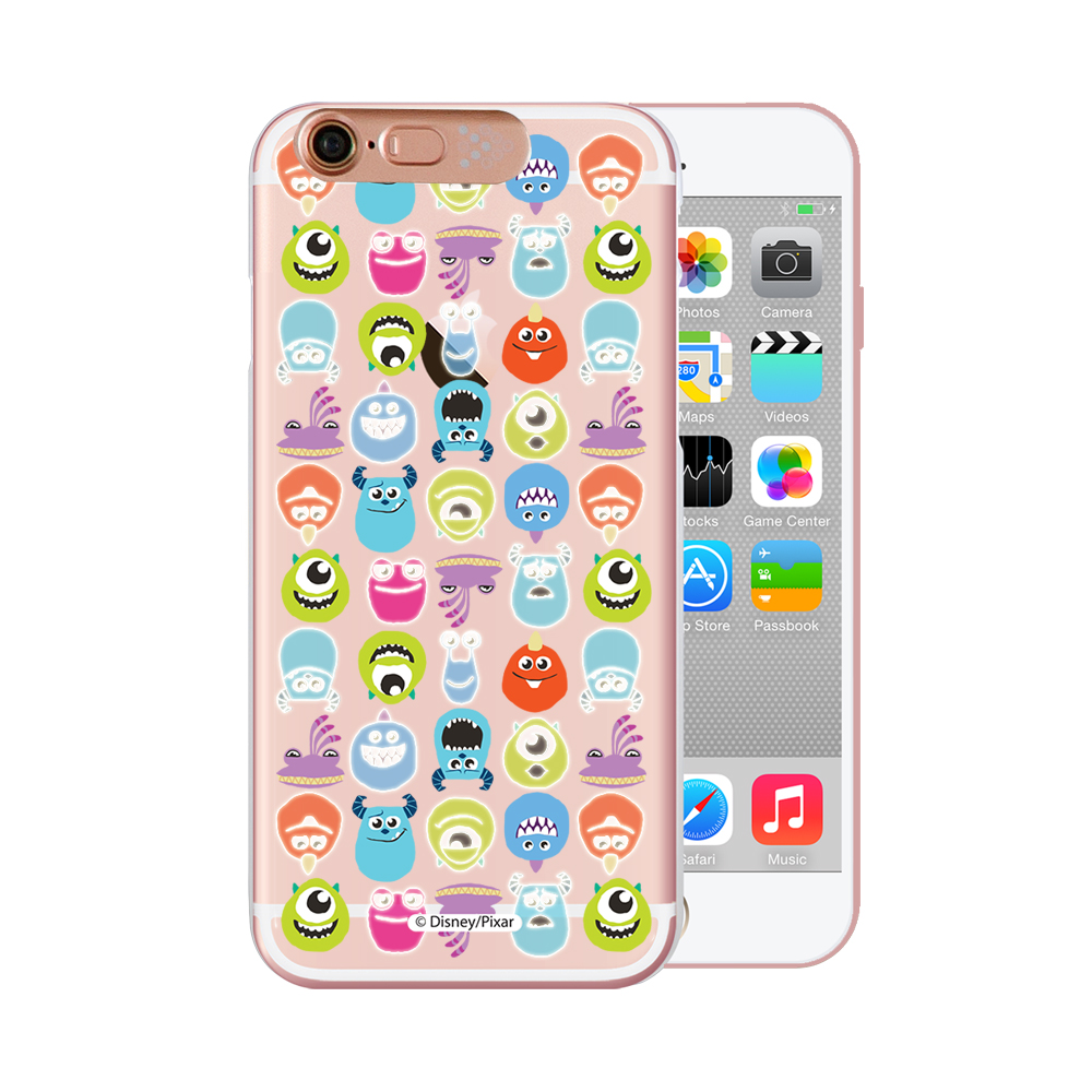 OPENBOX iPhone 6/6S 4.7吋 可愛爆閃手機殼-怪獸排排站