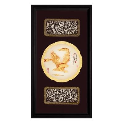 My Gifts-立體金箔畫-大展鴻圖(圓滿系列27.5x50.5cm)