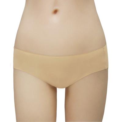 瑪登瑪朵-2014SS低腰寬邊三角無痕褲(亮鑽膚)