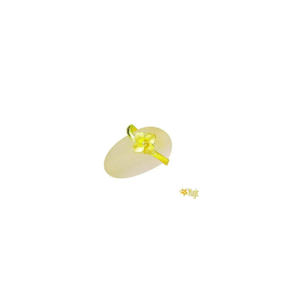 【Magic魔法金】愛的花朵尾戒