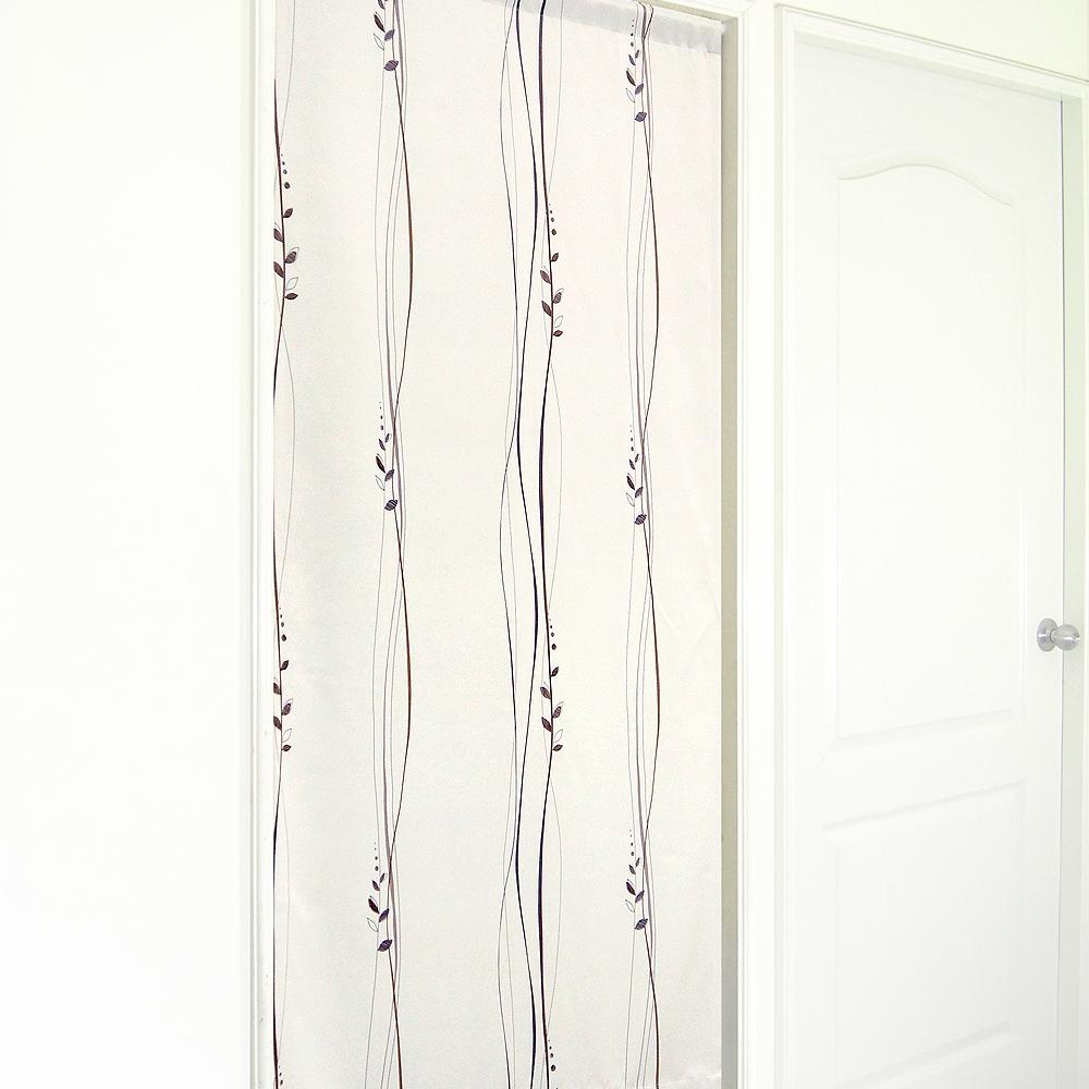 布安於室-波坦葉絲遮光風水簾-淺咖啡色