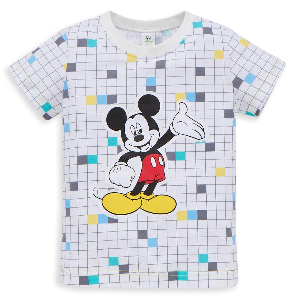 Disney 米奇系列數碼圓領上衣 (2色可選)