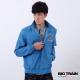 BIG TRAIN 赤青繡標抗UV夾克-男-