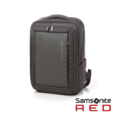 Samsonite RED  BAGFORD時尚大容量休閒筆電後背包M15吋(灰)
