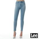 Lee 牛仔褲 417高腰緊身窄管牛仔褲/BO-女款-淺藍
