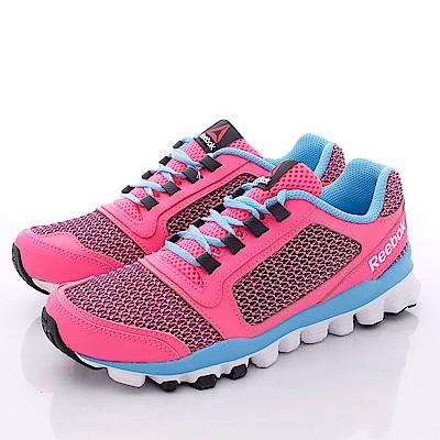 Reebok頂級童鞋 時尚運動慢跑款 AQ9755 粉 (中大童段)T1