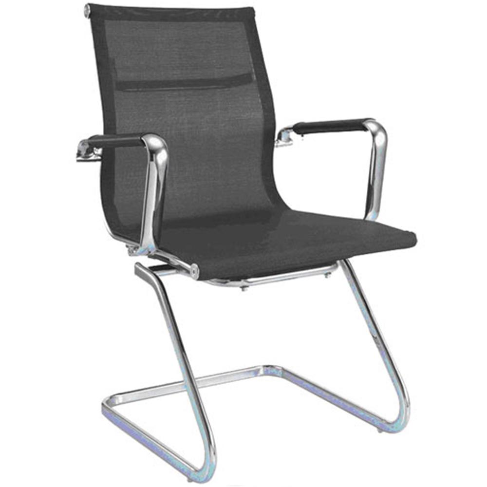 【aaronation】愛倫國度 透氣網布辦公椅/會議椅(i-RS904M-B)