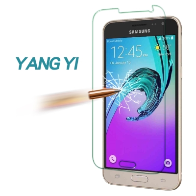 YANG YI 揚邑 Samsung J3 2016版 防爆防刮 9H鋼化玻璃保...
