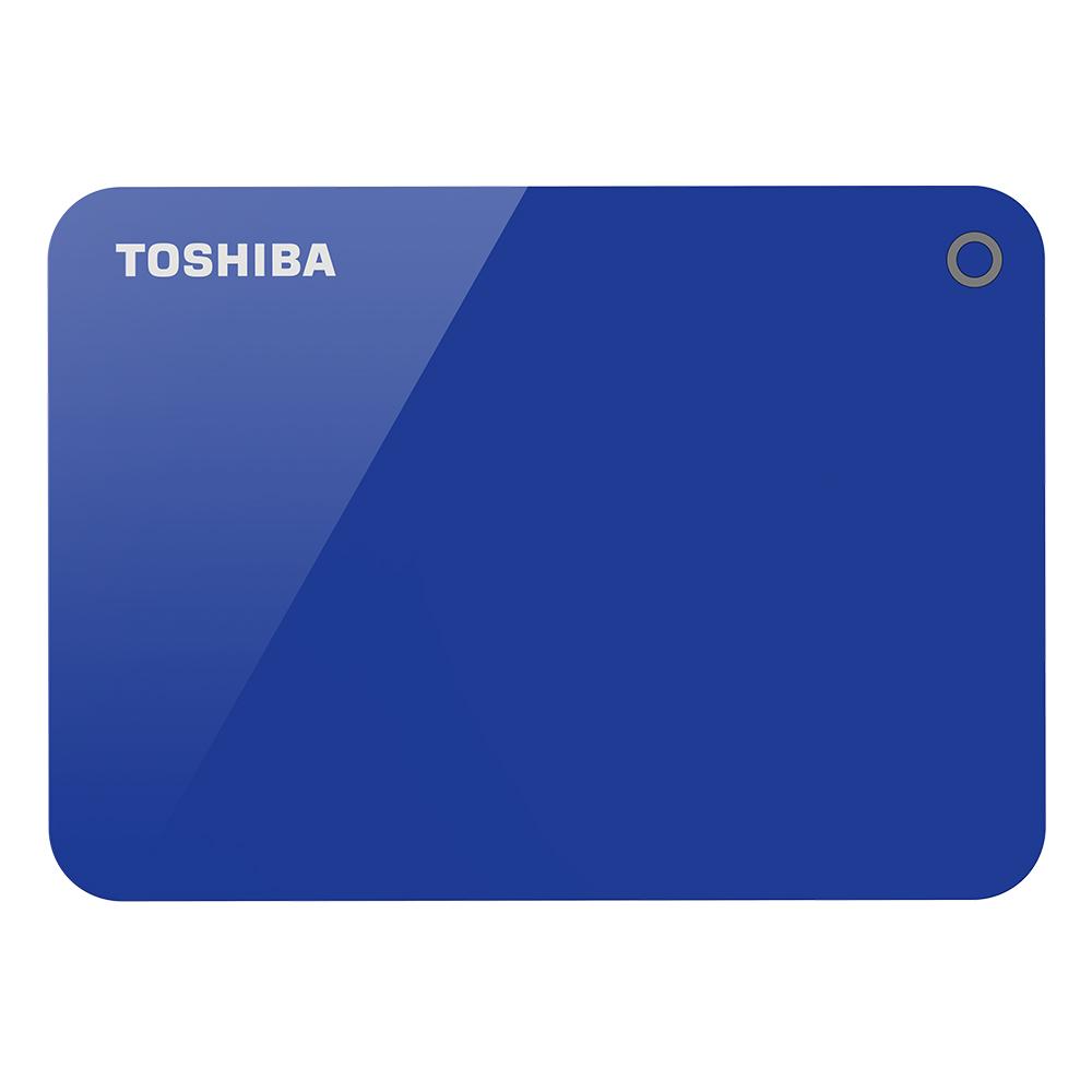 Toshiba 先進碟V9 1TB 2.5吋USB3.0外接式硬碟(優雅藍)