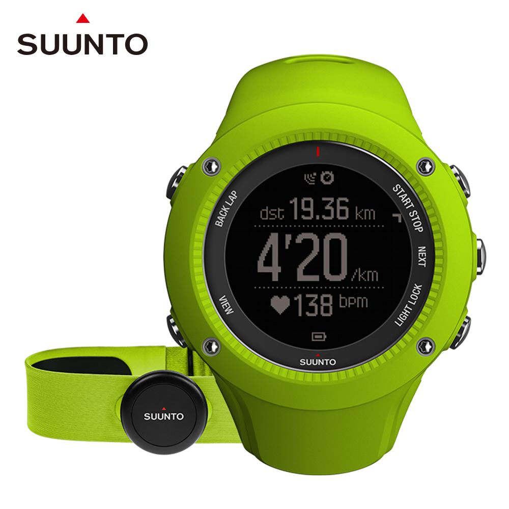 SUUNTO Ambit3 Run HR 跑者進階訓練GPS腕錶