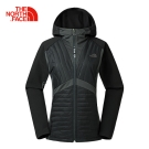 The North Face北面女款黑色保暖速乾運動鋪棉外套