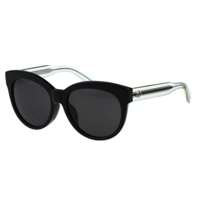 GUCCI- 貓眼太陽眼鏡(黑色) - GG3757FS