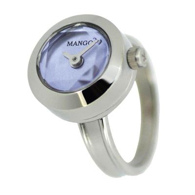 MANGO   星光閃爍淑女戒指錶-MA1004A-54/15mm