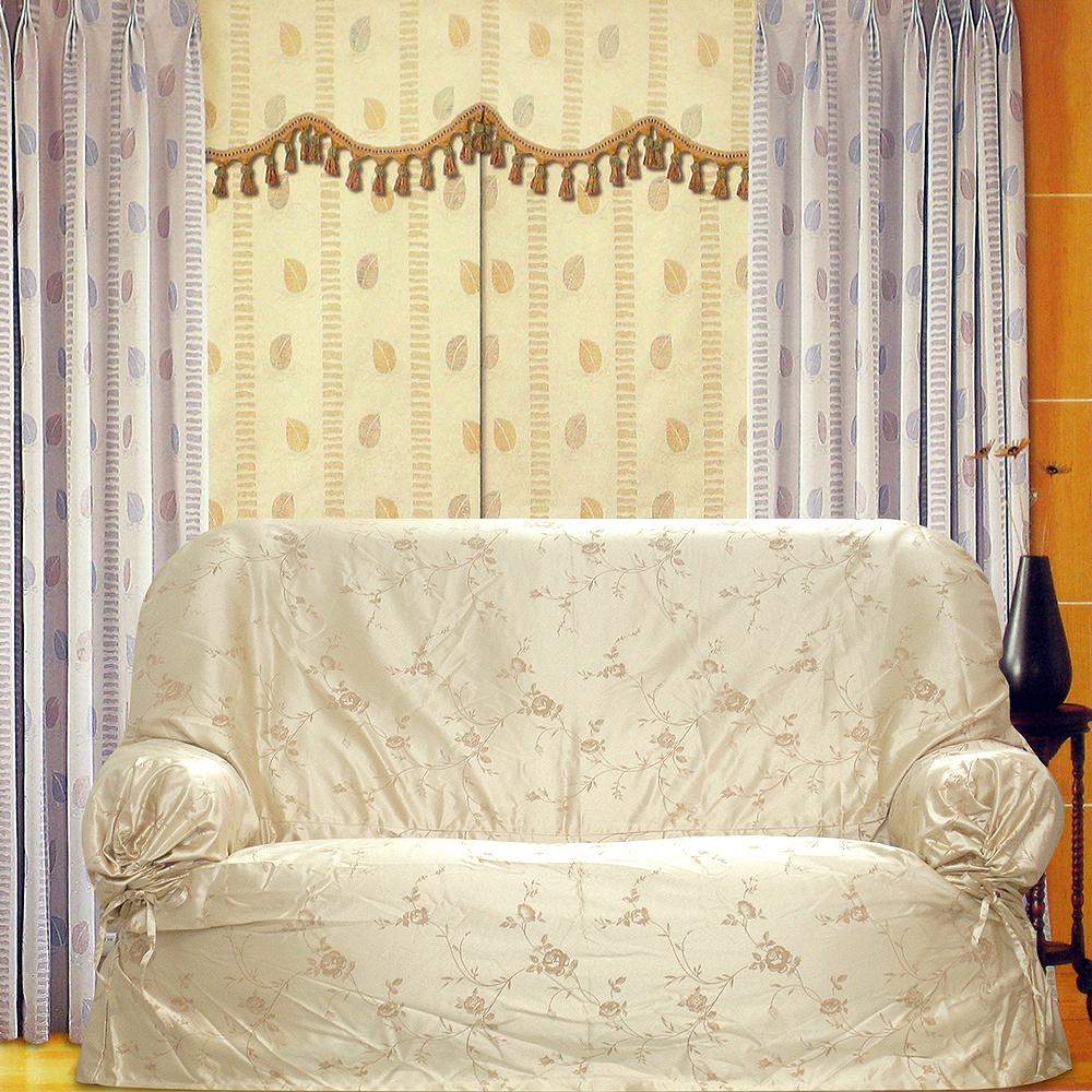 布安於室-小花紋緹花布便利套1人座