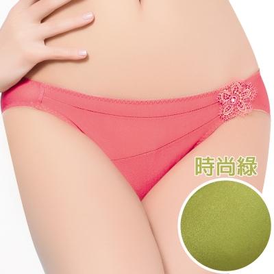 思薇爾 愛現GIRL系列低腰三角褲(時尚綠)