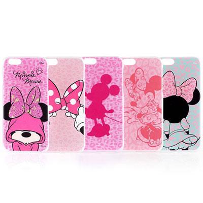 Disney iphone 6 /6s 彩繪豹紋系列透明保護手機殼
