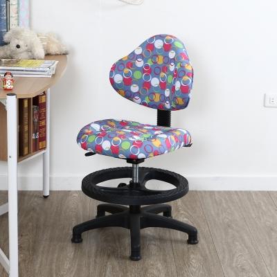 椅子夢工廠 3M防潑水航海王腳圈兒童椅/電腦椅(二色可選)