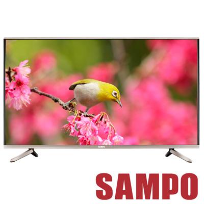 福利品 SAMPO聲寶 49型 4K Smart LED液晶+視訊盒 EM-49ZK21D