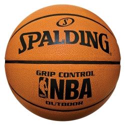 SPALDING NBA Grip Control 專業橘- Rubber 籃球 7號