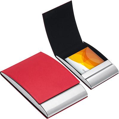 REFLECTS Vannes直式名片盒(紅)