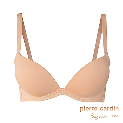 【Pierre cardin 皮爾卡登內衣】 無痕深V美型內衣(單件-膚)