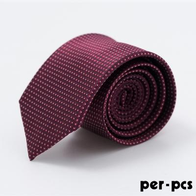 per-pcs 時尚紳士雅痞領帶_紅藍格(817003)
